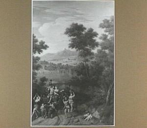 Landschap met de triomf van Ariadne en Bacchus