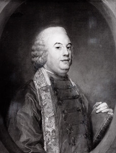 Portret van Petrus Woortman (1729-1791)