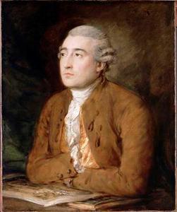 Portret van Philippe Jacques de Loutherbourg (1740-1812)