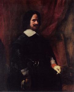Portret van Diego de Silva y Velasquez (1599-1660)