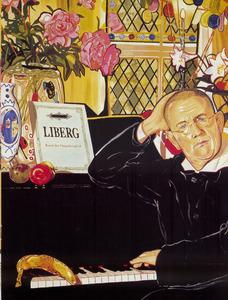 Portret van Hans Liberg (1954-)