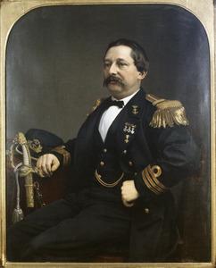 Portret van Willem Sluyterman van Loo (1828-1875)