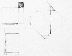 Sheet C: one lozenge, two rectangle compositions