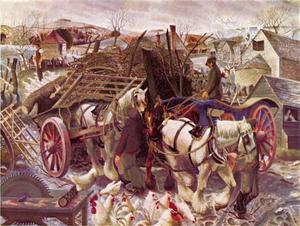 Een boerderij in de Cotswold's