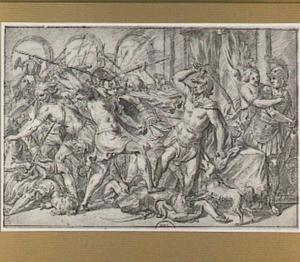 Phineus verstoort het bruiloftsfeest van Perseus en Andromeda (Metamorfosen 5:1-235)