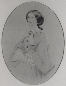 Portret van Cornelia Catharina van Hoorn (1821-1879)