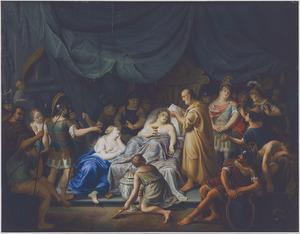 Het sterfbed van Alexander de Grote