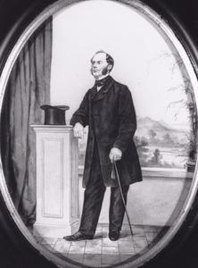 Portret van Otto Cornelis Adriaan van Lidth de Jeude (1819-1863)