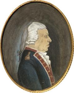 Portret van Willem de Clerck ( -1809)