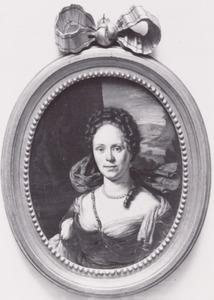 Portret van Christina Backer (1658-1734)