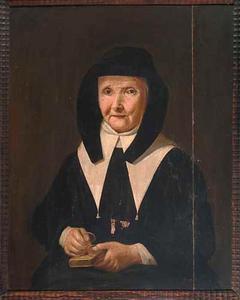 Portret van de lekezuster Maria Cathechiseermeester