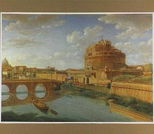 Gezicht op de Engelenburcht in Rome