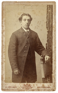 Portret van Bart van Runt (1862-1932)