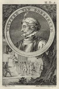 Portret van Wolfert van Borselen (1250-1299)