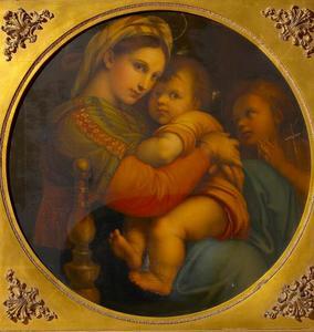 Maria met Christus en Johannes de Doper