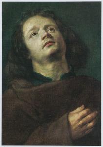 Studiekop van een jonge man in habijt, mogelijk Johannes de Evangelist