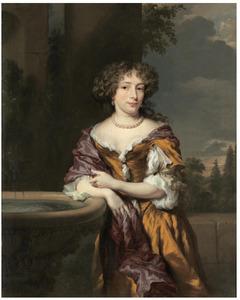 Portret van Maria Magdalena van Alphen (? -1723)