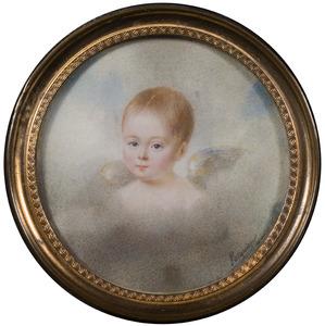 Portret van een kind, mogelijk een postuum portret van een kind uit de familie Van Nagell