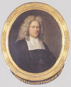 Portret van Adriaan van Cattenburch (1664-1743)