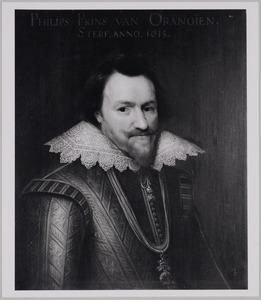 Portret van Philips Willem van Oranje- Nassau (1554-1618)