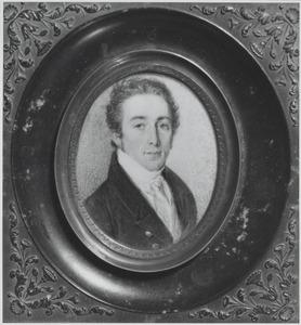 Portret van Abraham Gevers (1795-1844)