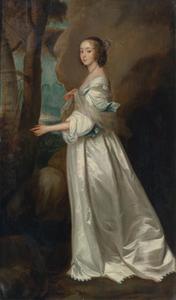 Portret van Frances Cranfield, Lady Buckhurst (1622-1687), later gravin van Dorset