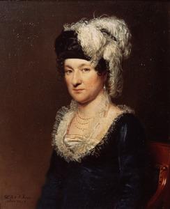 Portret van Tjallinga Aurelia Wilhelmina Camstra Thoe Schwartzenberg en Hohenlansberg (1775-1857)
