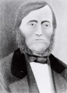 Portret van waarschijnlijk Willem van Tongerloo (1819-1894)