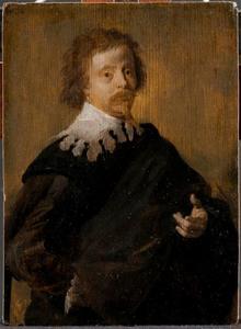 Portret van Cornelis van Poelenburch (1594/1595-1667)
