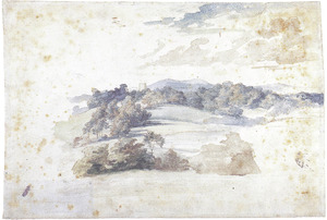 Heuvellandschap in Engeland