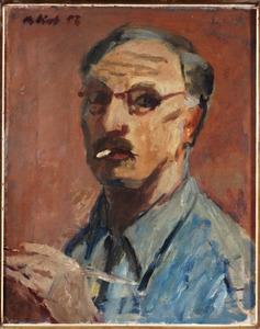 Zelfportret met sigaret
