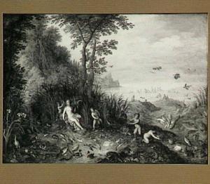Allegorie van het water (een van de vier elementen)