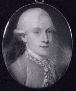 Portret van Iman Meinard Cau (1755-1791)