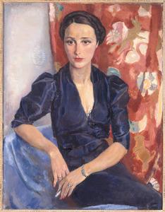 Portret van mevrouw Frankfurther (1906-1994)