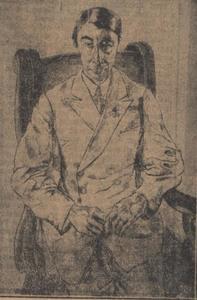 Portret van Henri Gerald van Tussenbroek (1879-1963)