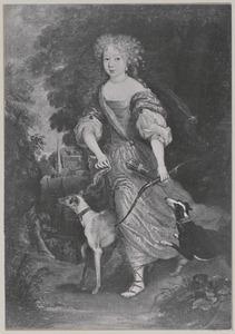 Portret van mogelijk Elisabeth Albertina van Anhalt -Dessau (1665-1706)