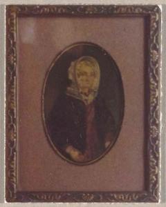 Portret van Marchjen Haak (1796-1871)