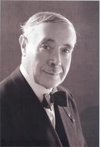 Portret van Willem Vogelsang (1875-1954)