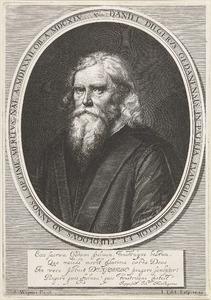 Portret van Daniel Dilger, pastoor in Danzig (1572-1645)