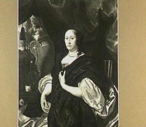 Portret van Catharina van der Voort (1622-1674)