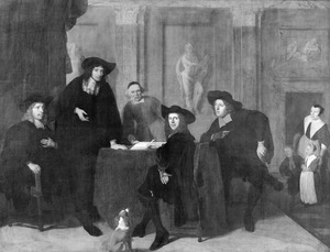 Regenten van het Leprozenhuis te Amsterdam, 1674