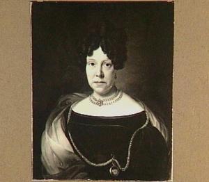 Portret van Jacoba Gerarda Scheurleer (1771-1832), vrouw van Willem Scheurleer