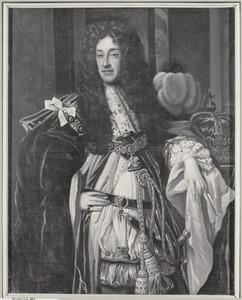 Portret van koning James II van Engeland (1633-1701)