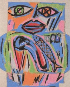 Portret van Catharina Maria Johanna Naus (1948- )
