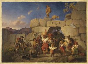 De terugkeer van Italiaanse landarbeiders
