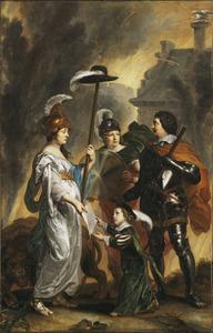 Willem II ontvangt de Akte van Survivantie