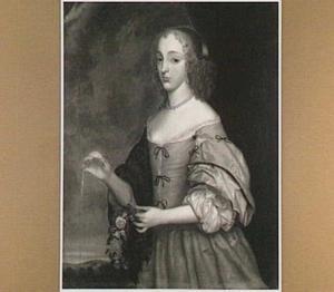 Portret van Elisabeth Charlotte von der Pfalz (1652-1722)