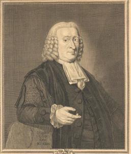 Portret van Christophorus Saxe (1714-1806)