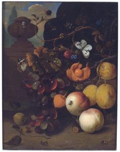 Vruchtenstilleven in de open lucht