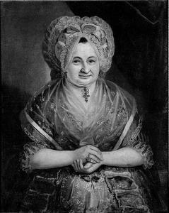 Vrouw van J. Gellis Hoffschlage